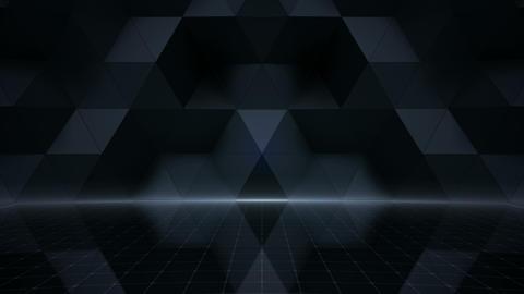 Geometric Wall Stage 1 NA2Fw 4k Animation