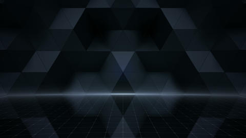 Geometric Wall Stage 1 NA2Fw 4k CG動画