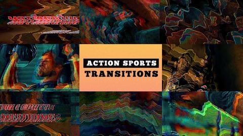 Action Sports Transitions Premiere Pro Template