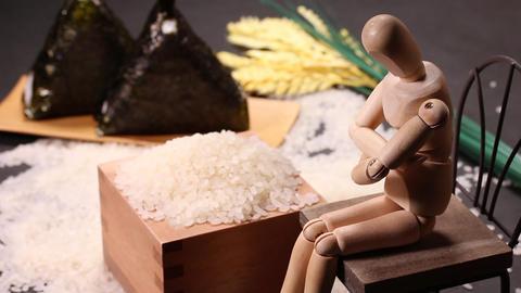 米とおにぎりと木の人形 ライブ動画