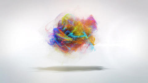 Particle Logo 2 ME folder After Effects Template