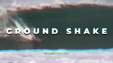 Ground Shake Premiere Pro Effect Preset