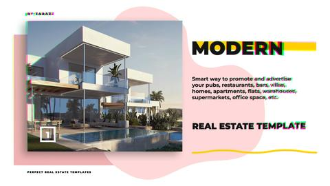 Modern Real Estate Premiere Pro Template