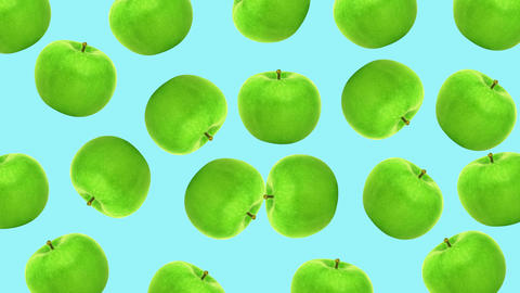 Apple minimal motion design animation Stock Video Footage