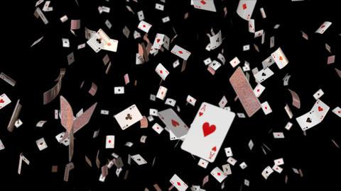 Poker card Ace loop Dof Animation