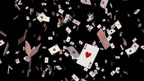 Poker card ace loop GIF