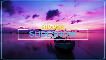 Summer Slideshow After Effects Projekt