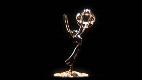 Emmy Award Glow Loopable Rotation Footage