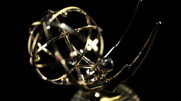 Emmy Award pan in Footage