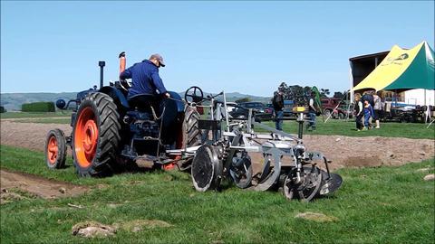 Vintage plough starts new furrow Footage