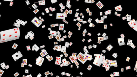 Poker card all loop DOF GIF