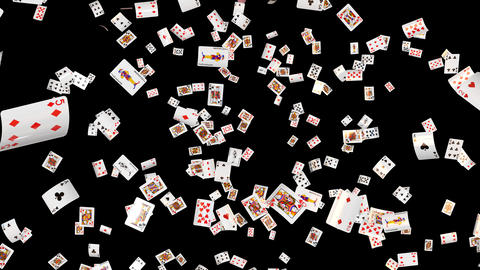 Poker card all loop Animation