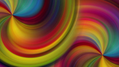 Spiral Colored Background Animation