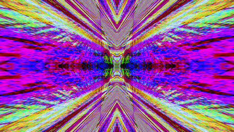 Abstract noisy neon sci-fi 90s background Live Action
