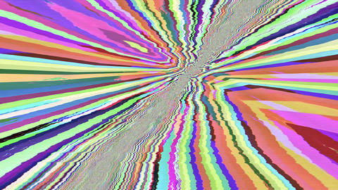 Abstract noisy dynamic sci-fi rave trip background Live Action