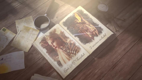 Your Story Book After Effects Template