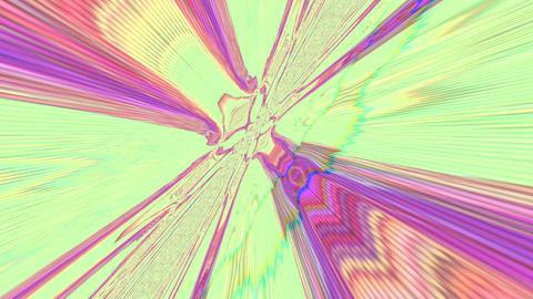Multicolored Computer error effect light leaks shimmering background. Vhs effect Live Action