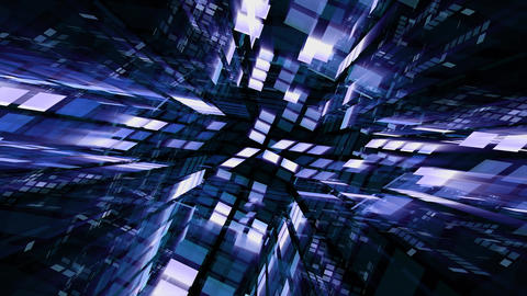 Future Tech 0141: Futuristic technology digital light abstraction Animation