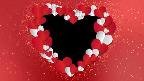 Valentine Hearts Farme Animation