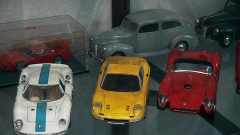 Small scale models of real cars Footage