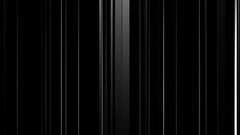 Black White Background with Changing Lines and Reflections Animation