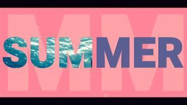 Summer Slideshow After Effectsテンプレート