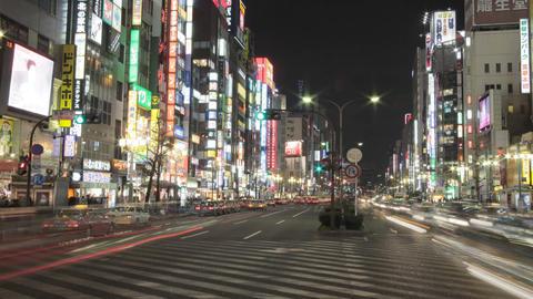 新宿 靖国通り Footage