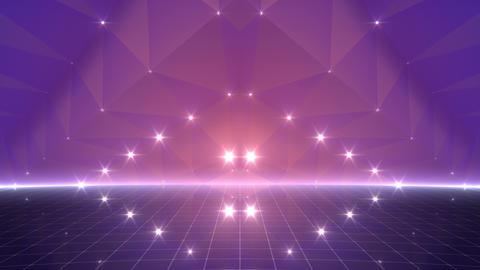 Geometric Star Stage 4 WBpZ Bb2 4k CG動画
