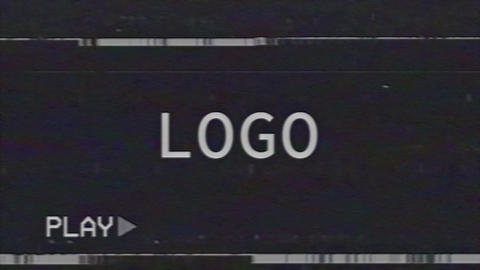 VHS Intro After Effects Template