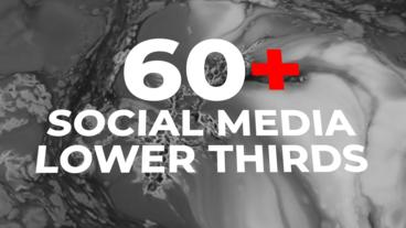 Social Lower Thirds After Effects Template