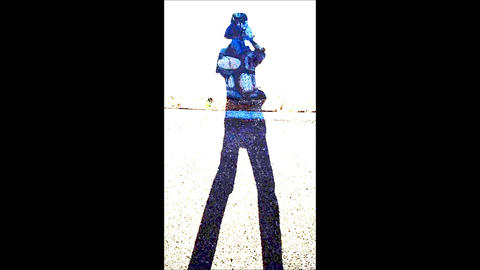 A Pop Rock Pattern Walking Person's Silhouette 1 ライブ動画