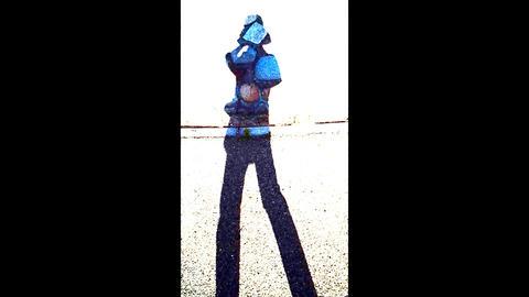 A Pop Rock Pattern Walking Person's Silhouette 2 ビデオ