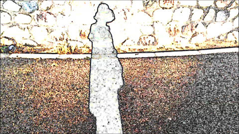 Golden Background and Silvery Person's Shadow ライブ動画