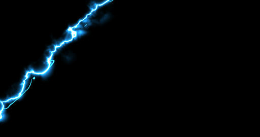 abstract multiple horizontal, vertical and oblique blue laser line tunder storm energy effect light Live Action