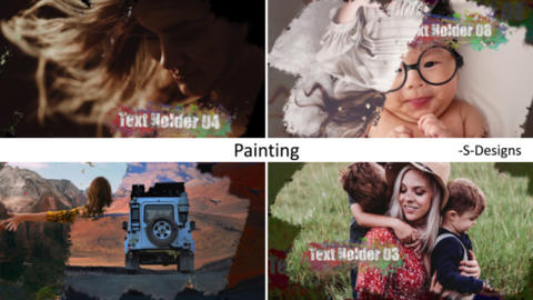 Painting After Effects Template