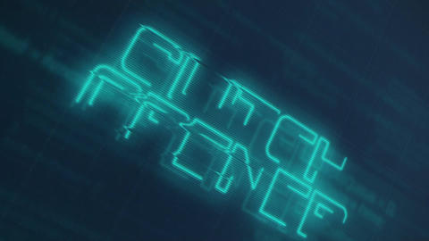 Glitch Opener Motion Graphics Template