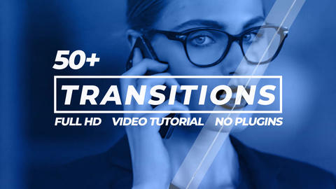 Transitions Pack After Effects Template