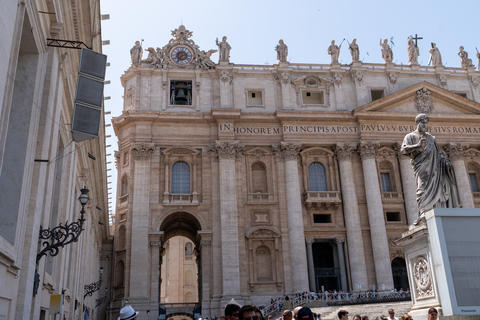 View on St. Peter's Basilica ans St. Peter's Square Vatican City Photo