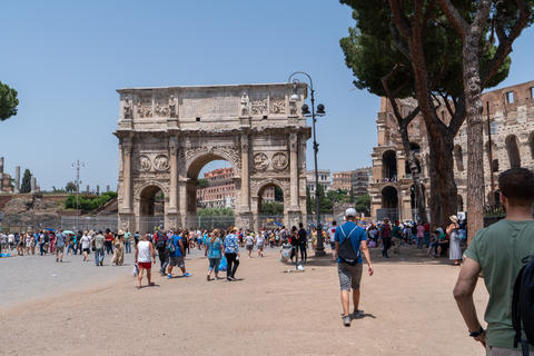 Arch of Constantine and Colosseum Photo