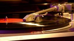 Gramophone. Retro Turntable Vinyl Records. 0