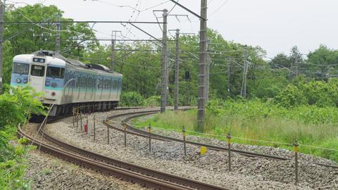 中央本線 ローカル電車 Footage