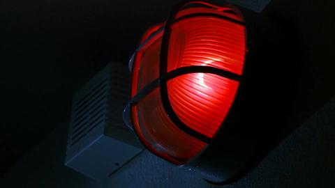 Red Flashing Warning Alarm Live Action