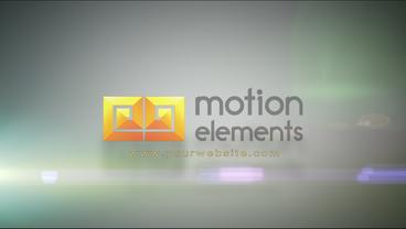 Floating Sand Particles into Logo After Effects Template