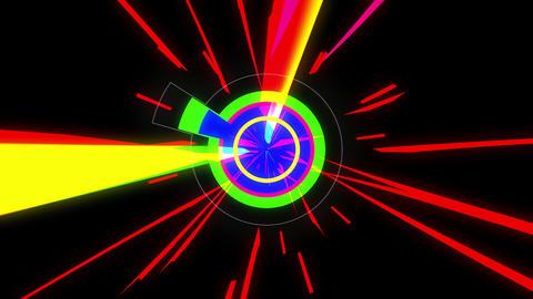 Crazy Color 4K 04 Vj Loop Animation