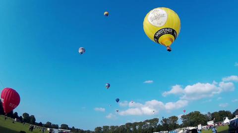 International Balloon Sail in Kiel, Germany Live Action