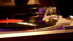 Gramophone. Retro Turntable Vinyl Records. 2