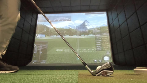 JSP-0482 Golf simulator Live Action