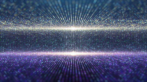 Futuristic Particles Stage Lights Background GIF