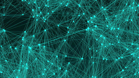 Text Content of many connecting dots in the space, modern digital background for Live Action