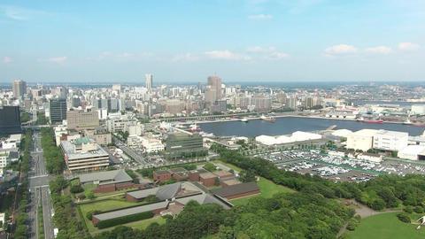 Sunny day city landscape. Chiba City, Japan ライブ動画